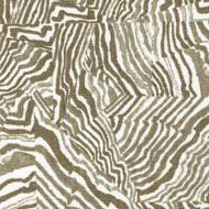Agate Sand Geometric Taupe Gathered Bedskirt