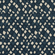 Nova Indigo Diamond Geometric Blue Tailored Bedskirt