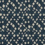 Nova Indigo Diamond Geometric Blue Gathered Bedskirt