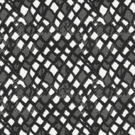 Nova Ink Diamond Geometric Black & Gray  Sham