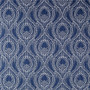 Alyssa Regal Navy Dotted Print Shower Curtain