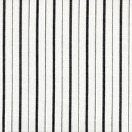 Piper Black Stripe Gathered Bedskirt