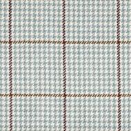 Pembrook Houndstooth Seaglass Rod Pocket Curtain Panels