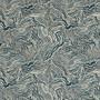 Agate Indigo Geometric Blue Print Envelope Pillow