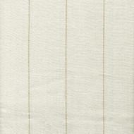 Copley Stripe Ivory Scallop Valance, Lined