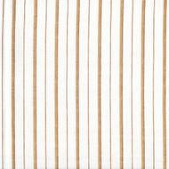 Piper Sand Brown Stripe Shower Curtain