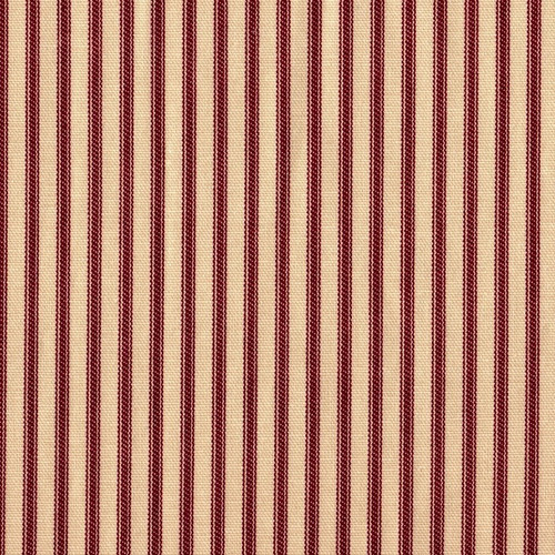 French Country Crimson Ticking Sham