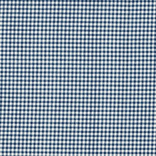 French Country Nautical Blue Gingham Tailored Bedskirt