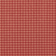 French Country Crimson Gingham Gathered Bedskirt