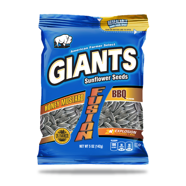 Honey Mustard and BBQ Flavor Fusion Sunflower Seeds