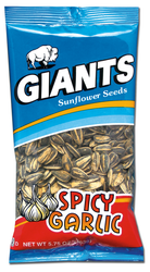 Spicy Garlic Flavored Sunflower Seeds - 5.75 oz. Bags (24 count case)