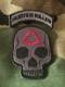 Hunter Killer Skull and Rocker Set -morale patch