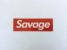 Savage - Sticker
