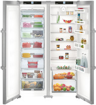 Liebherr SBSEF7242 709L Side by Side Fridge