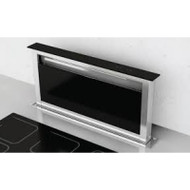 Award 90cm In-Bench Riser Rangehood in Stainless Steel and Black Glass (DD902SS)