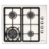 Parmco HO-1-6S-3GW Stainless Steel Gas Hob 600mm