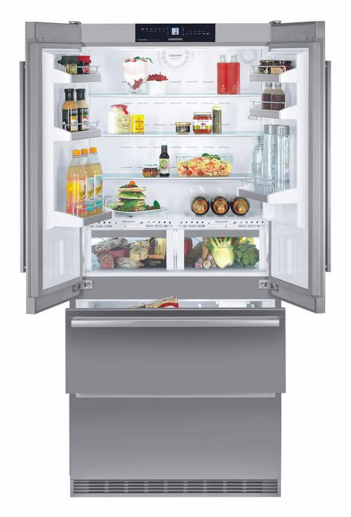 Double Door Fridge Freezer Part - 17: Liebherr 585L Double Door Integrated Fridge Freezer
