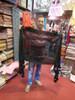 Pashmina from Oman. Fur Trim & Pom Poms-Pink