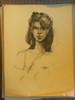 Portrait of an Artist- #1 - Drawing on Paper.  Russ Cormer