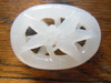 Jade Pendant- Carved white jade from China.