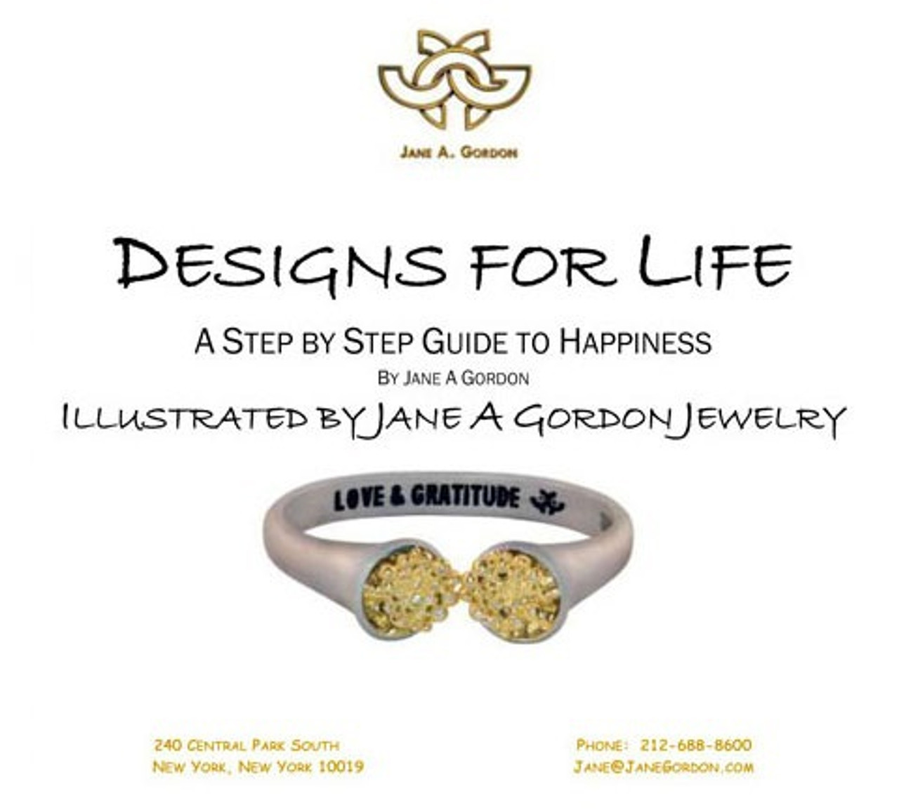 Designs for Life.  A Step by Step Guide to Happiness.  Digital Version-FREE