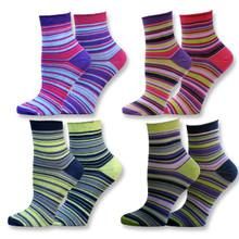 Organic Cotton Mismatched Rolltop Socks