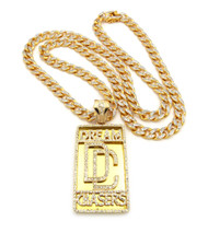 Hip Hop Dream Chasers Pendant & Top Quality Diamond Cz Chain