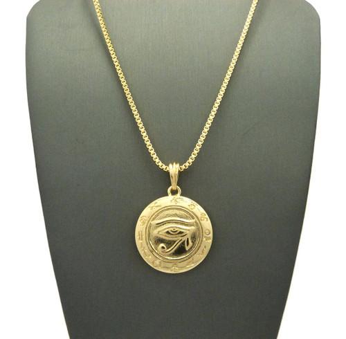 kemetic jewelry udjat eye of horus ra box chain