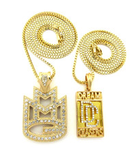 Rick Ross Meek Mill Inspired Dream Chasers Hip Hop Pendant Chains