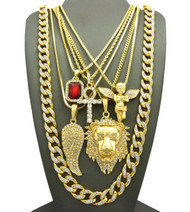 God of Wrath Egyptian Ankh Cross Ultra Baller Hip Hop Chains