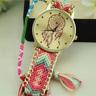 Dreamcatcher Friendship Bracelet Watch