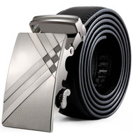 Men Leather Fashion Automatic Buckle Belt