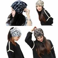 Classic Fashion Hip-Hop  Multi Purpose Baggy Hat Scarf Beanie Cap