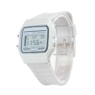 80's Retro Fashion Vintage Digital Wristwatch White