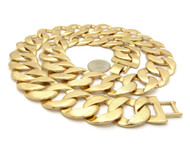 Big Boy 25mm 30 Inch Textured Cuban Link Hip Hop Chain