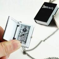 New Unique Death Note Bronze Necklace Chain Pocket Watch