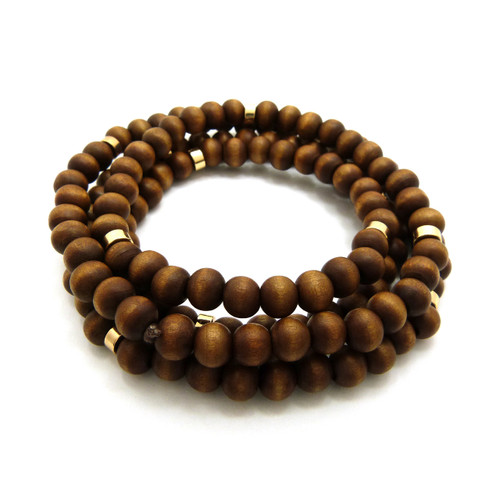 Brown Wood Chain