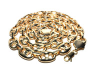 Hip Hop 2 Chainz Bling Gold Link Chain Necklace