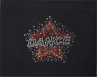 Red Star Dance Spray Patch