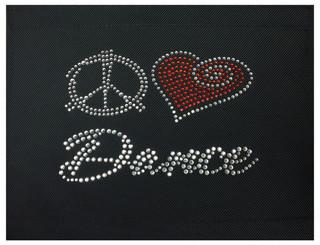 Peace Love Dance Patch