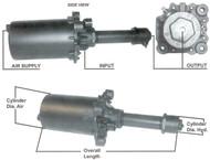 MIDLAND  AIR-HYDRAULIC PRESSURE CONVERTER    N4174-B-BF