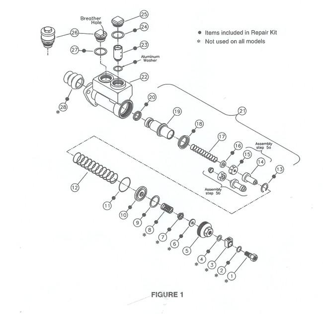 mico master cylinder oh kit 02-001-145-ohk