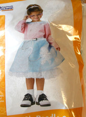 50's Poodle Cutie Toddler Costume 3-4 NWT