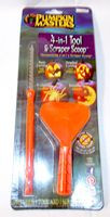 Halloween Pumpkin Masters 4 In 1 Tool Scraper Scoop Carving Kit NIP