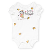 Little Princess One Piece Short Sleeve Baby Shirt 0-6 6-12 Months NIP