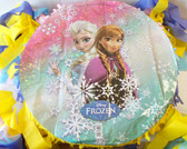 "Frozen Elsa Anna Birthday Party Pinata Custom 15"" NEW"