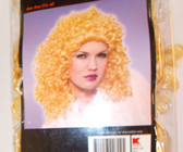 Deluxe Curly Blonde Wig Adult OSFM 3+ NIP