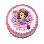 Sofia the First Sweet as a Princess edible cake image NEW