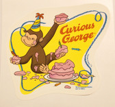 Curious George cake image Birthday Cake Party Favor New