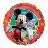 "Disney Mickey Mouse Mylar Balloon Birthday Party 18"" NIP"